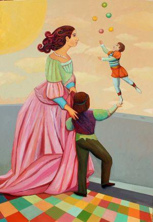 Teach Me To Believe - Acrylic Painting