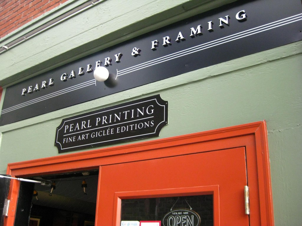 Pearl Gallery & Framing Sign