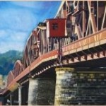 Mooney Bridge Painting